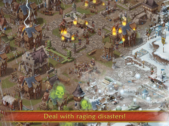 Screenshot #3 for Townsmen Premium