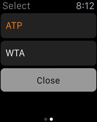 Tennis Matches iPhone Screenshot 7