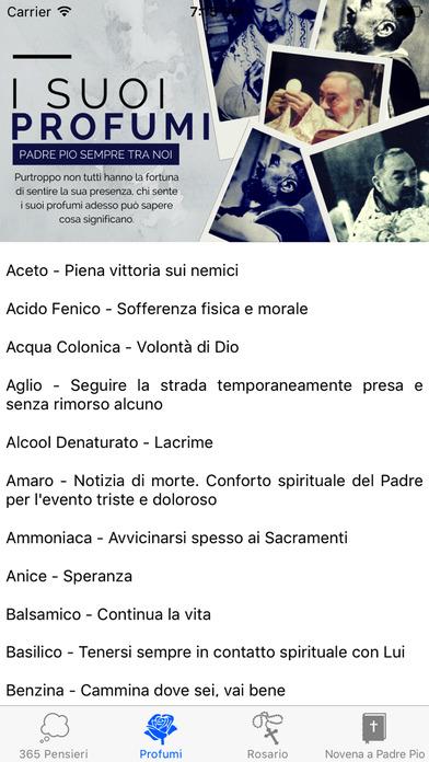Padre Pio iPhone Screenshot 3