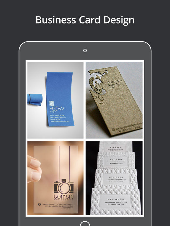 App Shopper Businesscard Innovative Design Catalog Catalogs