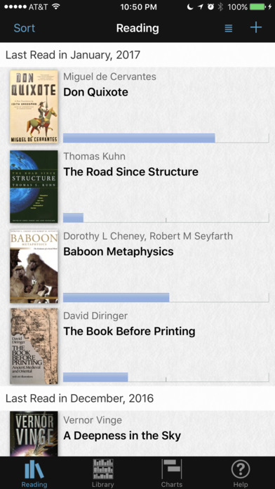 BookHabit iPhone Screenshot 2