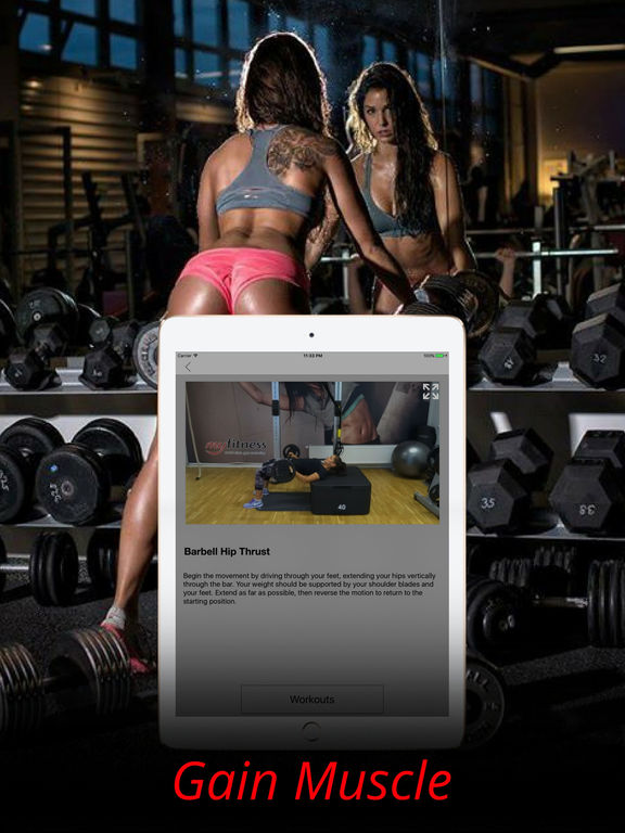 Buttocks Exercises & Glutes Muscles Workout Plan Screenshots