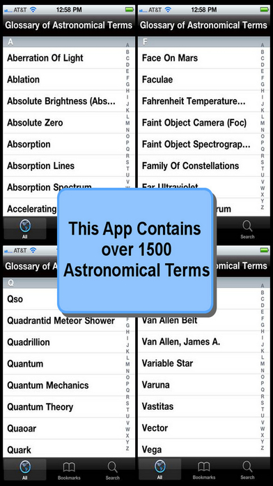 Glossary of Astronomical Terms iPhone Screenshot 4