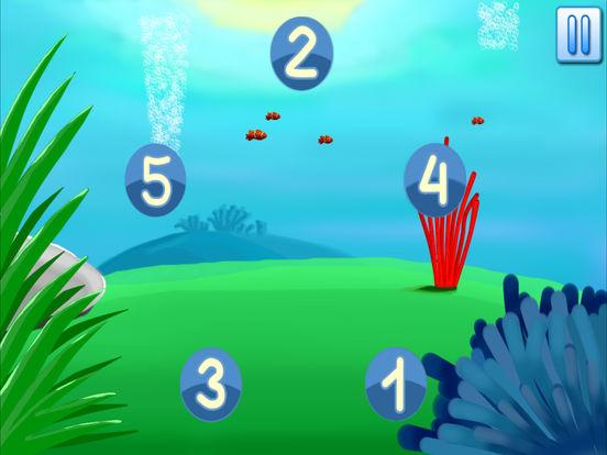 Учим цифры - развивающие игры для малышей для iPad