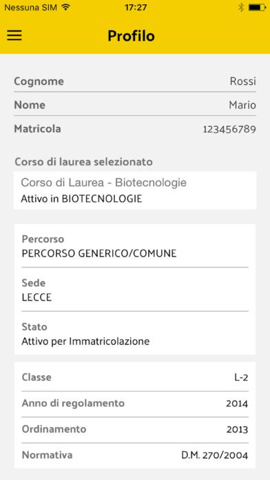 myuniSalento screenshot 1