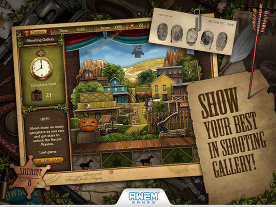 Golden Trails: Hidden Object Adventure Western для iPad