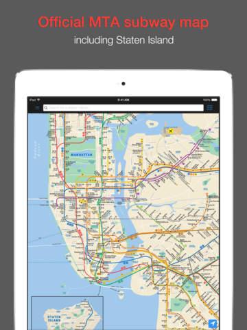 New York Subway MTA Map screenshot 1