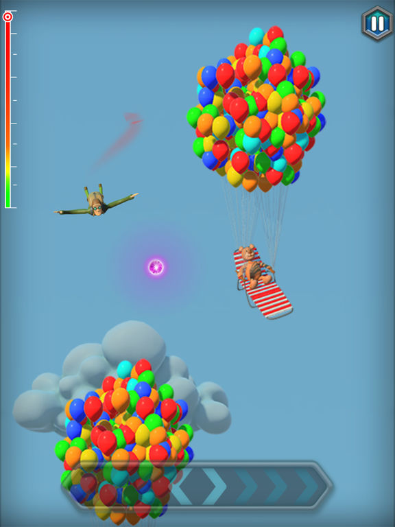 Jumping Jack's Skydive introduced for iOS - New Skydiving Game Image