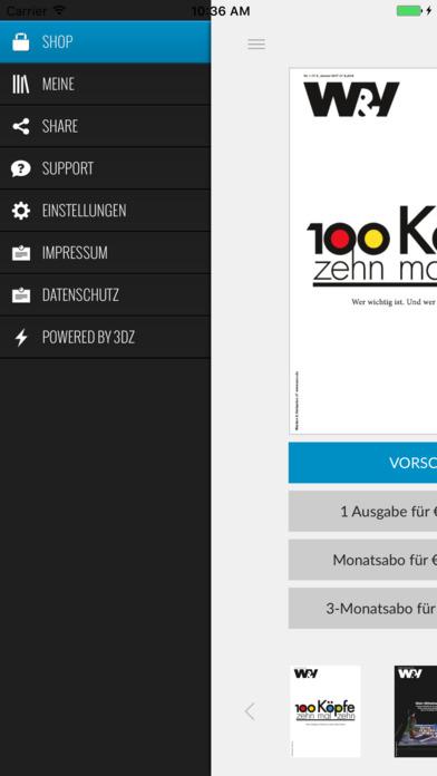 W&V Kiosk iPhone Screenshot 4