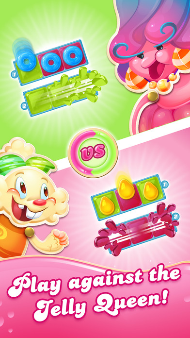 Candy Crush Jelly Saga screenshot 2