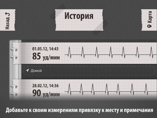 Кардиограф Классик Screenshot