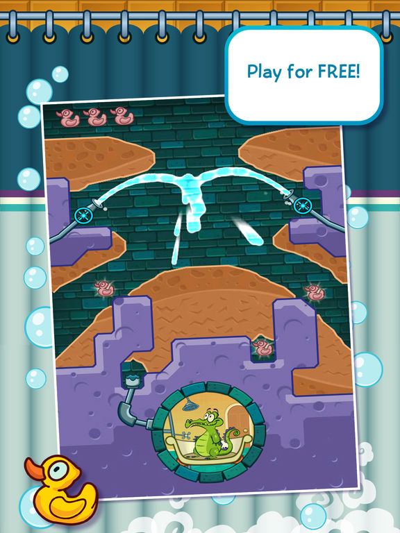 Screenshots of Where's My Water? Free for iPad