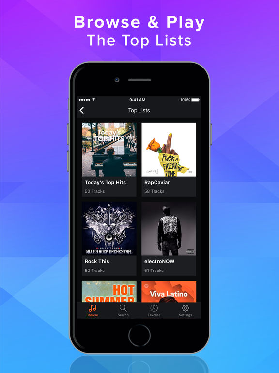 Premium Search Music Pro for Subscription Premium Screenshots