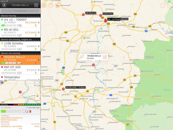 GPS-Explorer iPad Screenshot 1