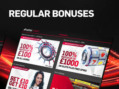 Betfair Casino & Roulette screenshot 2