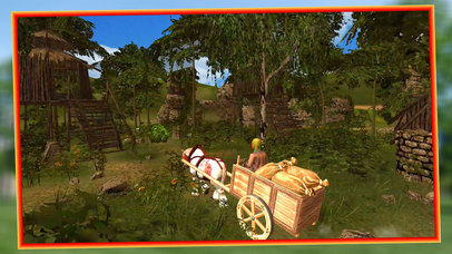 Horse Cart Riding 3D - Pro screenshot 2