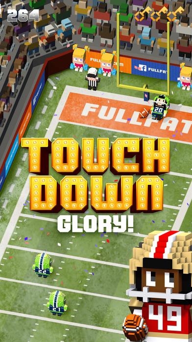 Blocky Football - Endless Arcade Runner Screenshot