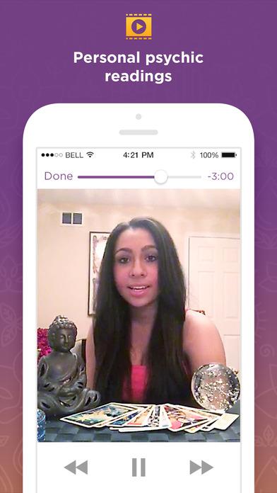 Purple Ocean Psychic Readings app image