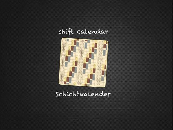 shift calendar plus iPad Screenshot 1