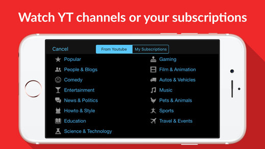 Tube for YouTube Screenshots