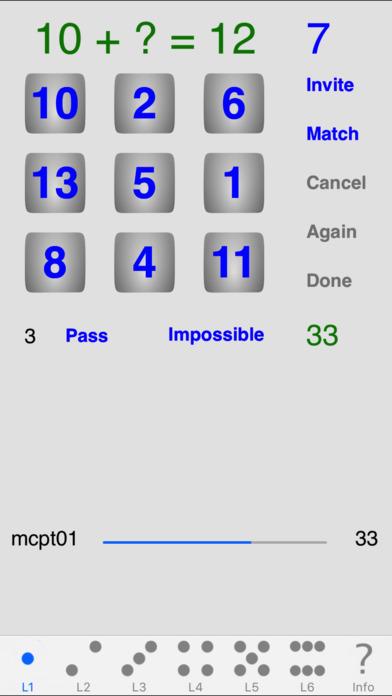 MindCalc iPhone Screenshot 1