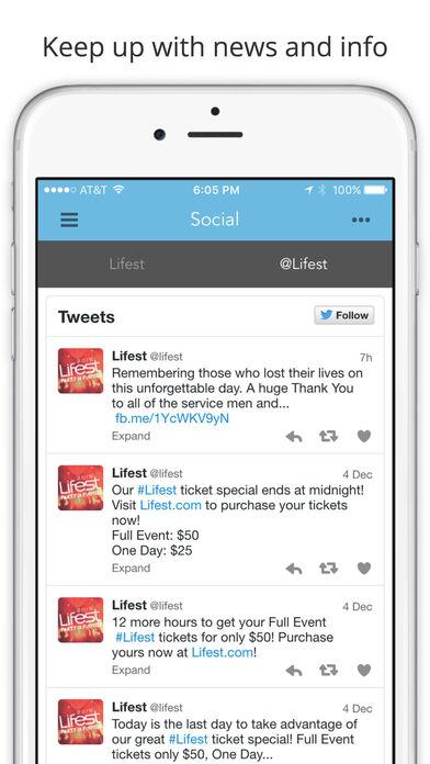Lifest 2017 iPhone Screenshot 5