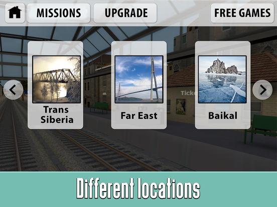 Russian Railway Train Simulator 3D Full screenshot 8