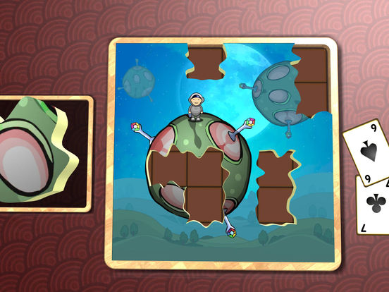 Jigsaw Solitaire Dreamtime screenshot 9