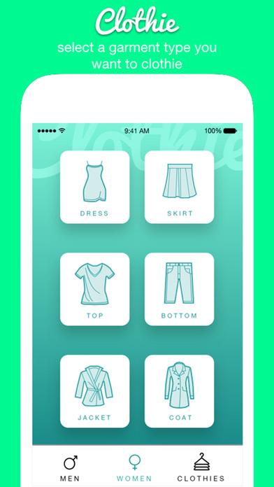 Clothie screenshot 1