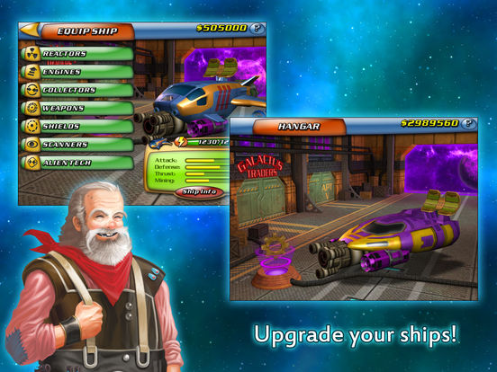 Space Miner: Space Ore Bust iPad Screenshot 4