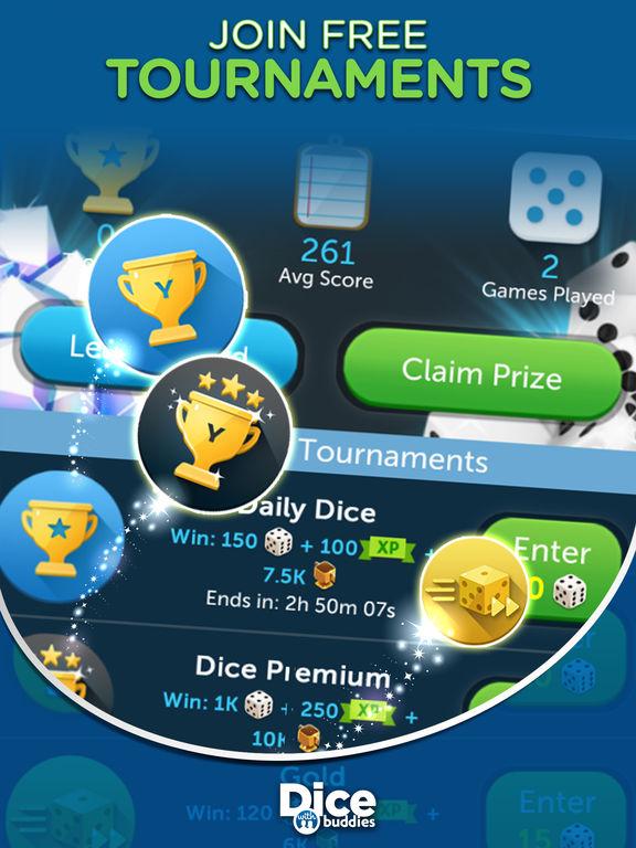 Dice With Buddies: Fun New Social Dice Game Screenshots