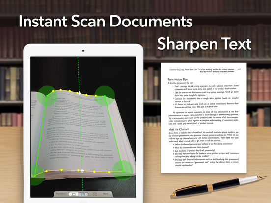 Doc Scan HD - PDF document scanner app Screenshot