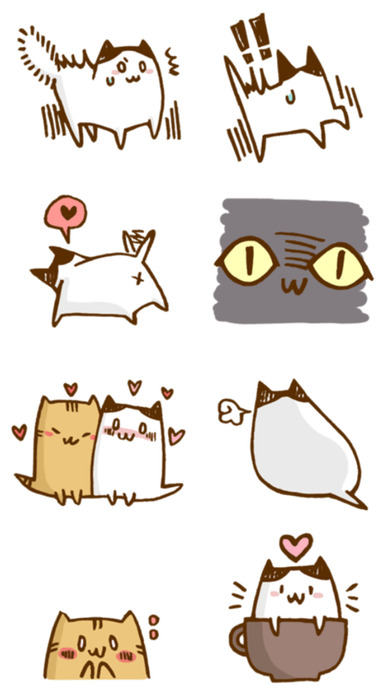 Little Cats Friends - Stickers! screenshot 4