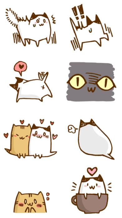 Little Cats Friends - Stickers! screenshot 4