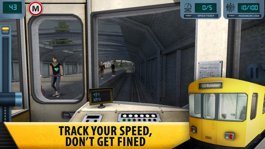 Subway Simulator 4 - Berlin U-Bahn Pro Screenshots