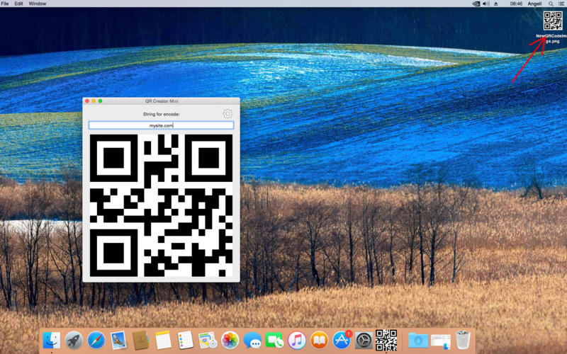 QR Creator Mini for Mac