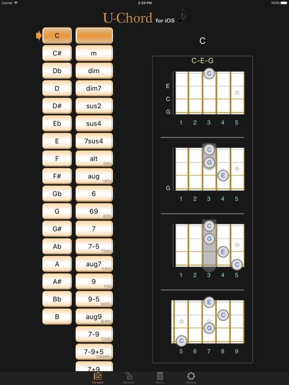 U-Chord (Ukulele Chord Finder) on the App Store