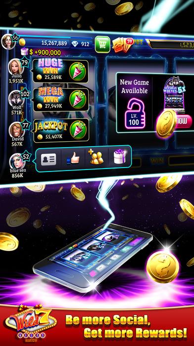 Screenshot 3 Wild7Vegas Casino — Lucky Slot machines