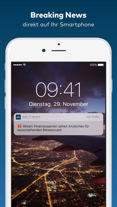 WELT News - Aktuelle Nachrichten iPhone Screenshot 5