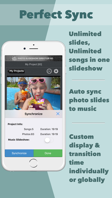 Photo Slideshow Director - Top Music Video Editor Screenshots