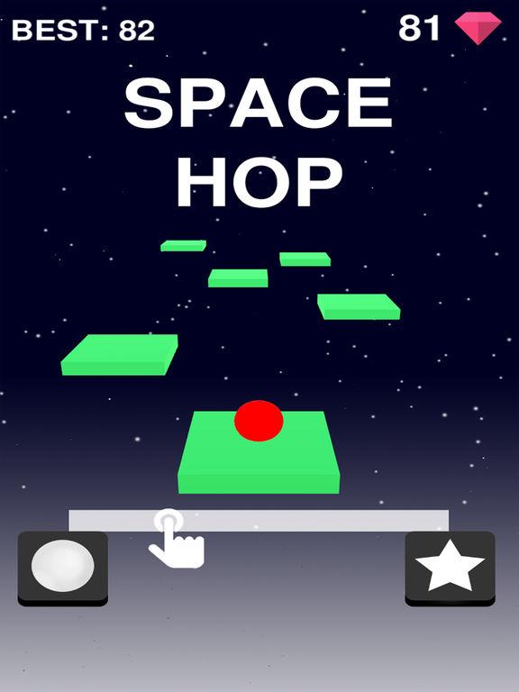 Space Hop на iPad