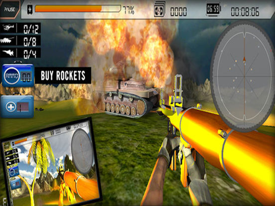 Bazooka Clash Shooting Sniper Games Pro screenshot 7