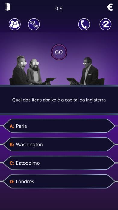 Milionário 2017 - Novo Questionário Português screenshot 1