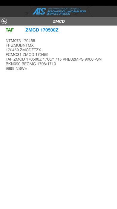 Metar Taf Mongolia screenshot 3