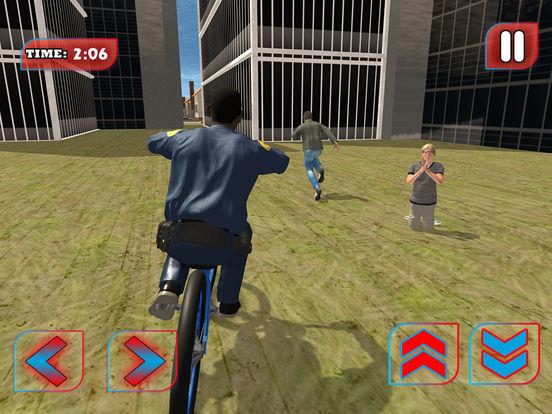 Screenshot #2 for Police BMX Rider: Crime