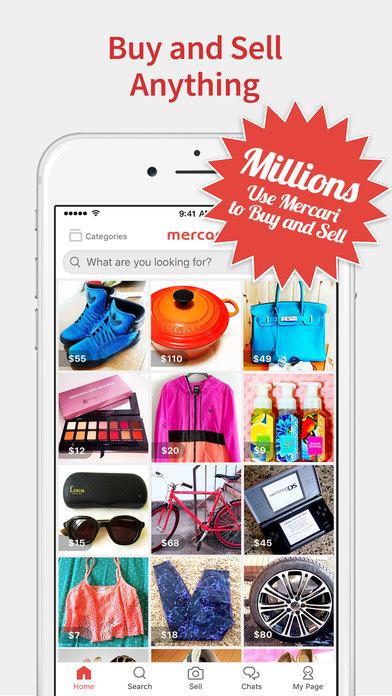 Mercari: Shopping Marketplace to Buy & Sell Stuff screenshot 1
