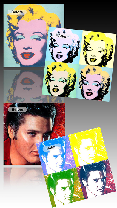 PopArt - Create Pop Art Portrait like Andy Warhol Screenshots