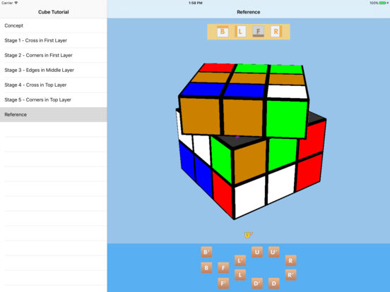 Cube Tutorial iPad Screenshot 5