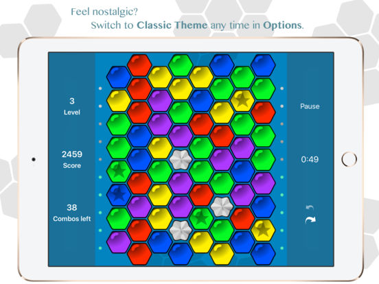 Hexic - the original game Screenshots