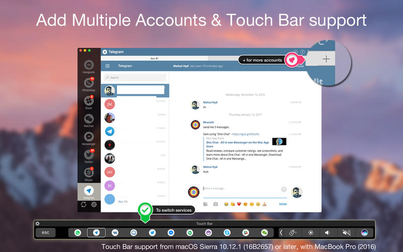 One Chat - All in one Messenger Screenshots